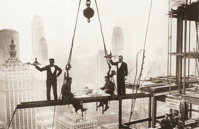 New York City (Men on Girder, Lunch Above Manhattan) Art Poster Print Posters