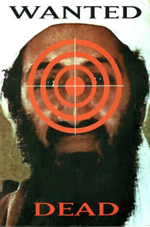Wanted Dead Osama Bin Laden Art Print Poster Posters