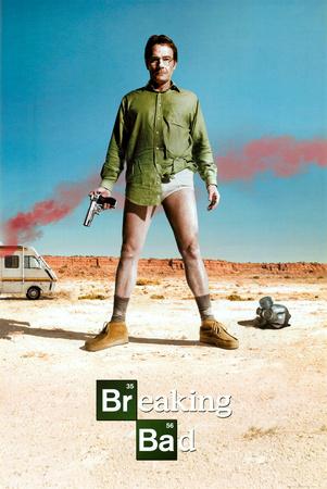 Breaking Bad Bryan Cranston TV Poster Print Prints