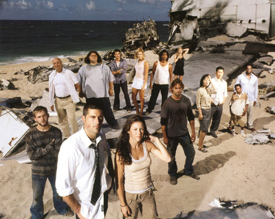 Lost (Group on Beach) Glossy Photograph - TV Photo