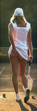 Tennis Girl Sexy Photo Door Poster Print Posters