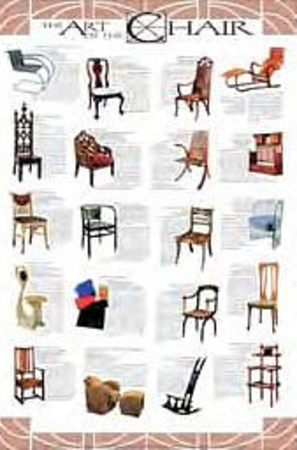 The Art of the Chair Art Poster Print Photo