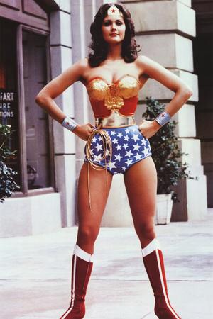 Lynda Carter as Wonder Woman TV Poster Print Print