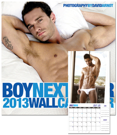 Boy Next Door - 2013 Calendar Calendriers