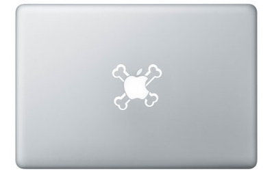 Pirate's for Mac Laptopstickers
