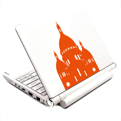 The Sacred heart Paris Laptop-Aufkleber