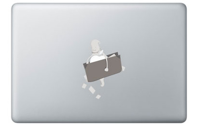 Ghost Thief for Mac Stickers pour ordinateurs portables