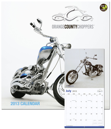 Orange County Choppers - 2013 Calendar Calendriers