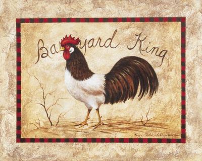 Barnyard King Prints by Peggy Sibley