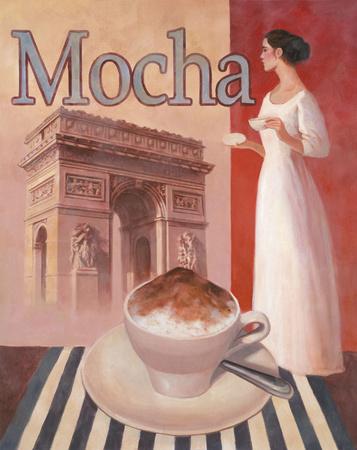 Mocha-Arc De Triomphe Prints by T. C. Chiu