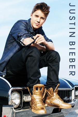 Justin Bieber-Car Plakat