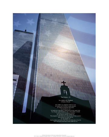 World Trade Center, Psalm 23 Posters