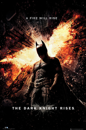 Batman-The Dark Knight Rises-One Sheet Póster