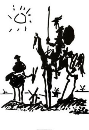 Don Quixote, c. 1955 Prints by Pablo Picasso