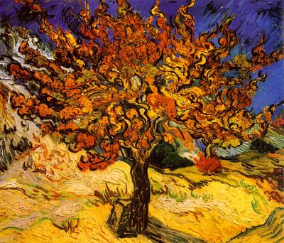 The Mulberry Tree, c. 1889 Poster von Vincent van Gogh