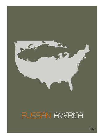 Russian America Posters by  NaxArt