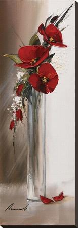 Hauteurs Florales II Sträckt kanvastryck av Olivier Tramoni