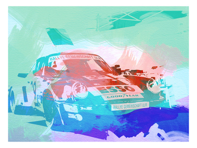 911 Before The Race Prints by  NaxArt