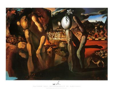 The Metamorphosis of Narcissus, c.1937 Prints by Salvador Dalí
