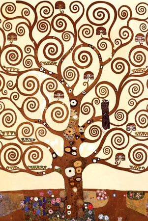 The Tree of Life, Stoclet Frieze, c.1909 (detail) Prints by Gustav Klimt