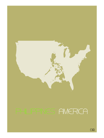 Philippines America Posters by  NaxArt