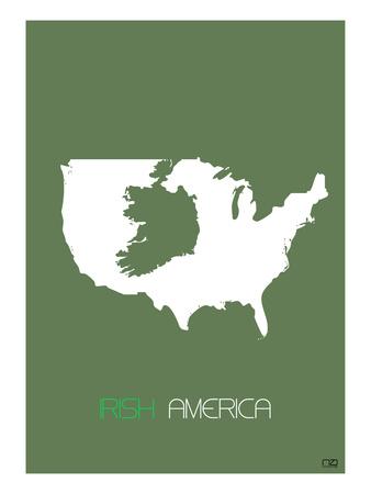 Irish America Poster Prints by  NaxArt