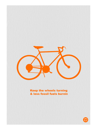 Keep The Wheels Turning Prints by  NaxArt
