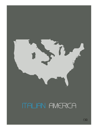 Italian America Print by  NaxArt