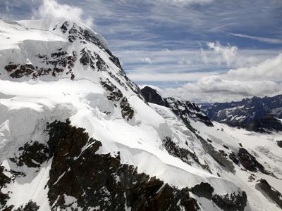 Breithorn, 4164 M, Zermatt, Valais, Swiss Alps, Switzerland, Europe Photographic Print by Hans-Peter Merten