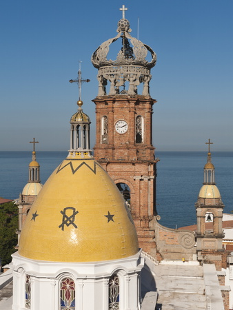 The Lady of Guadalupe Church, Puerto Vallarta, Jalisco, Mexico, North America Photographic Print by Michael DeFreitas