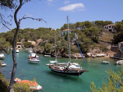 Cala Figuera, Mallorca, Balearic Islands, Spain, Mediterranean, Europe Photographic Print by Hans-Peter Merten