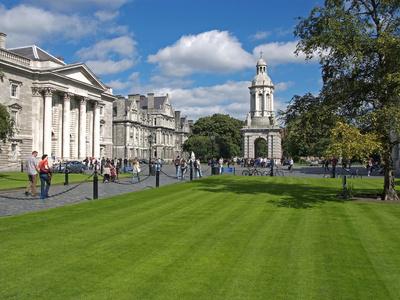 University Trinity College, Dublin, Republic of Ireland, Europe Photographic Print by Hans-Peter Merten
