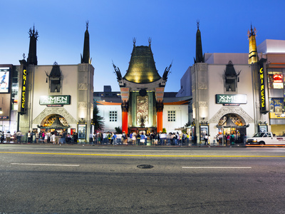 Grauman's Chinese Theatre, Hollywood Boulevard, Los Angeles, California, United States of America,  Photographic Print by Gavin Hellier
