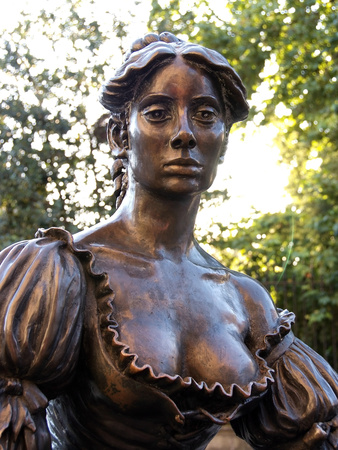 Molly Malone Statue, Grafton Street, Dublin, Republic of Ireland, Europe Photographic Print by Hans-Peter Merten