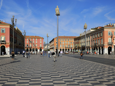 Place Massena, Nice, Alpes Maritimes, Provence, Cote D'Azur, French Riviera, France, Europe Photographic Print by Peter Richardson