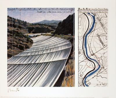 Over the River, project for the Arkansas River Eksklusivudgaver af  Christo
