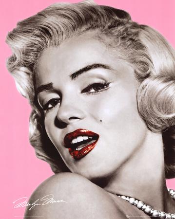 Marilyn Monroe - Lips Prints