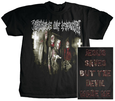 Cradle of Filth - Jesus Saves Shirt