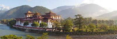 Punakha Dzong Monastery, Punakha, Bhutan Photographic Print by Peter Adams