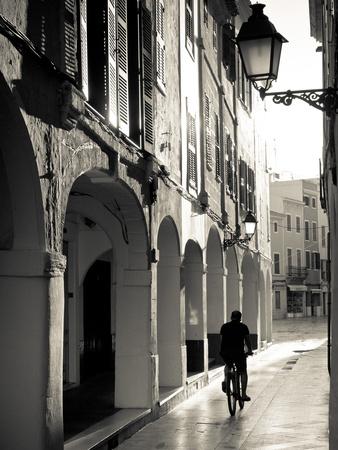 Spain, Balearic Islands, Menorca, Ciutadella, Old Town Photographic Print by Michele Falzone