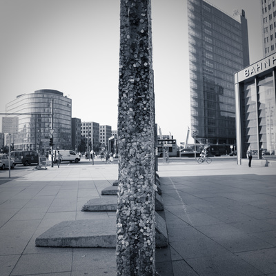 Remaining Sections of the Berlin Wall at Potsdammer Platz, Berlin, Germany Photographic Print by Jon Arnold