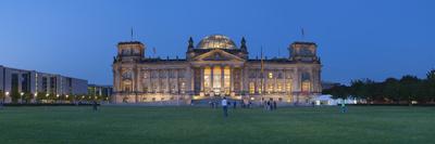 Reichstag (Deutscher Bundestag/Parliament Bldg), Berlin, Germany Photographic Print by Jon Arnold
