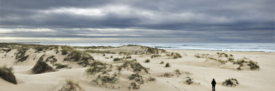 The Vast Empty Beach and Sand Dunes of Sao Jacinto in Winter, Beira Litoral, Portugal Photographic Print by Mauricio Abreu