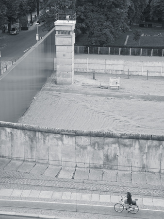 Berlin Wall Memorial on Bernauer Strasse, Berlin, Germany Photographic Print by Jon Arnold