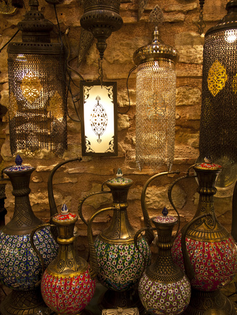 Grand Bazaar, Istanbul, Turkey Photographic Print by Jon Arnold