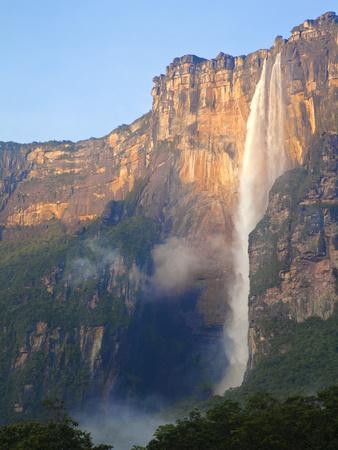 Venezuela, Guayana, Canaima National Park, Angel Falls Photographic Print by Jane Sweeney