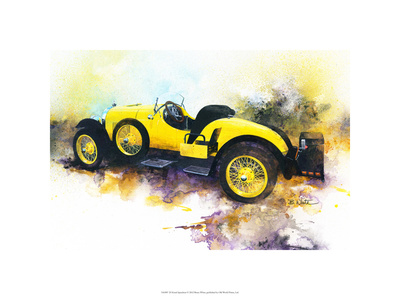 '23 Kissed Speedster Premium Giclee Print by Bruce White