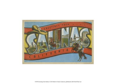 Greetings from Salinas Prints