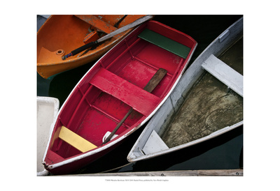 Wooden Rowboats XII Prints by Rachel Perry