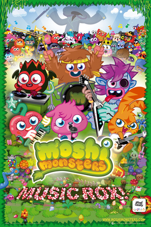 Moshi Monsters-Music Rox Affiche